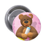 Dinky Bears Babygirl Pinback Buttons