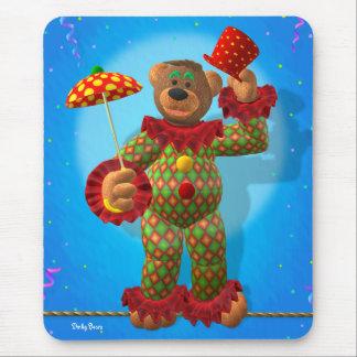 Dinky Bears balancing Clown Mouse Pad