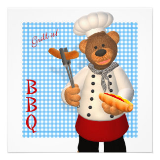 Dinky Bears BBQ Chef Announcement