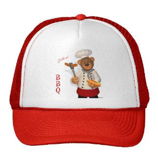 Dinky Bears BBQ Chef Cap