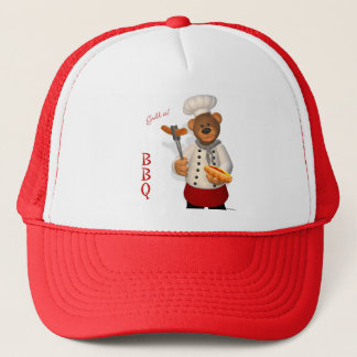 Dinky Bears BBQ Chef Trucker Hat