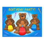 Dinky Bears Birthday Party