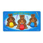 Dinky Bears Birthday Party