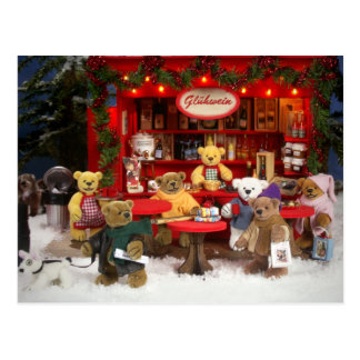 Dinky Bears Christmas Fair Postcard
