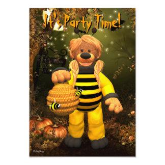 "Dinky Bears Little Bee 5"" X 7"" Invitation Card"
