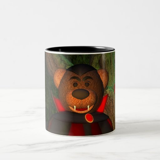 Dinky Bears Little Dracula Mug