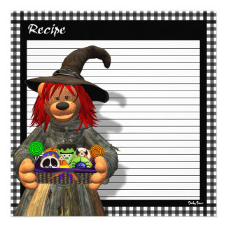Dinky Bears Little Kitchen Witch Invite