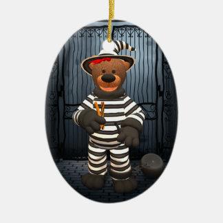 Dinky Bears Little Prisoner Christmas Ornament