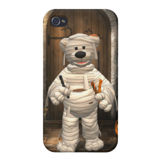 Dinky Bears: Little Trick or Treat Mummy Covers For iPhone 4