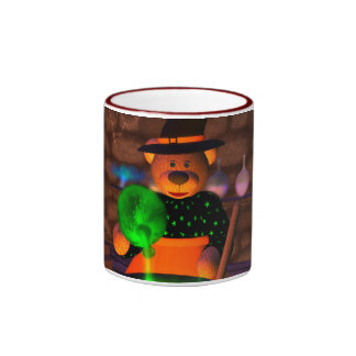 Dinky Bears Little Witch Ringer Mug