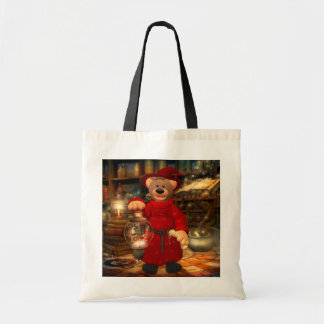 Dinky Bears Little Wizard Budget Tote Bag