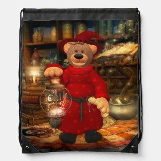 Dinky Bears: Little Wizard Drawstring Bag