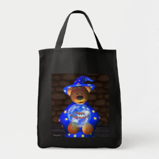 Dinky Bears Little Wizard Grocery Tote Bag