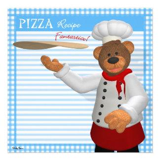 Dinky Bears Pizza Baker Invite