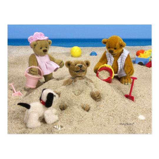 Dinky Bears: Summer Greetings Postcard