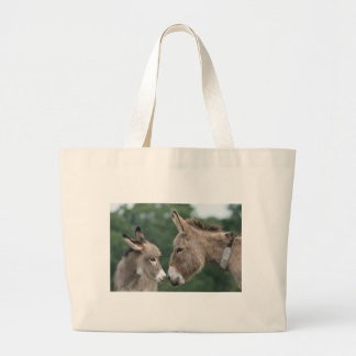 Dinky donkey large tote bag