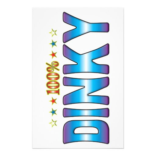 Dinky Star Tag v2 Personalised Stationery