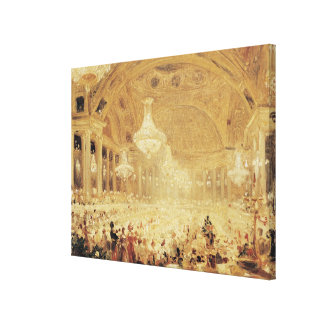 Dinner at the Tuileries Canvas Prints