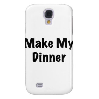 Dinner Samsung Galaxy S4 Cover