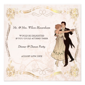 Dinner Dance Party Invitation