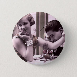 Dinner Date 6 Cm Round Badge