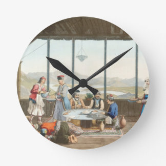 Dinner held at Delphi in honour of the painter by Round Clock