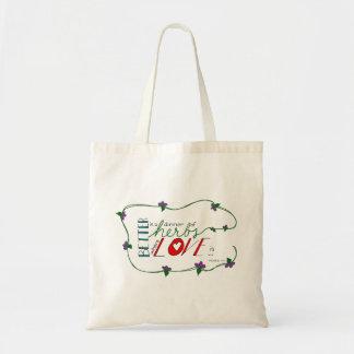 dinner of herbs tote bag