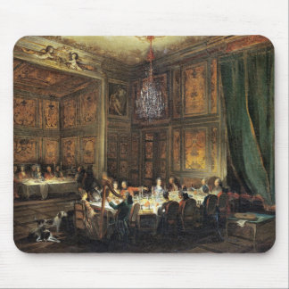 Dinner of the Prince of Conti in the Temple Mouse Mat