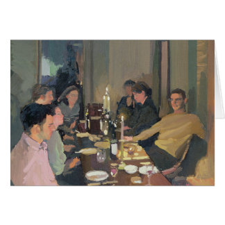 Dinner Party Greeting Card