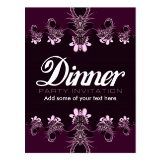 Dinner Party Invitation Template and get inspiration to create nice invitation ideas