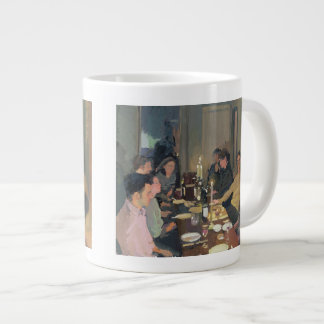 Dinner Party Large Coffee Mug