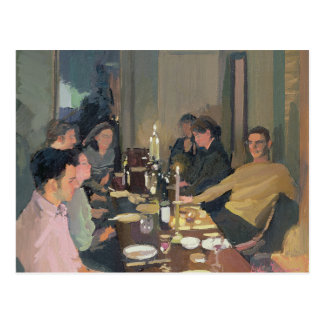 Dinner Party Postcard