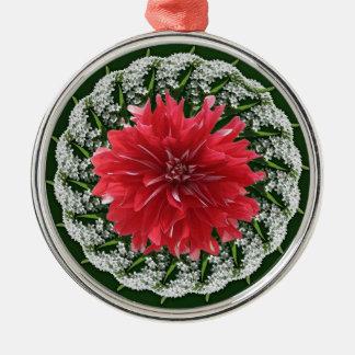 Dinner Plate Dahlia Ornament