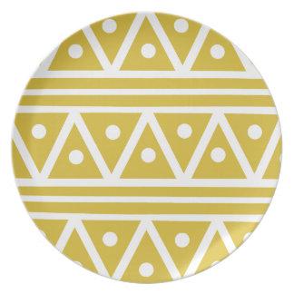 Dinner Plate in Freesia Yellow