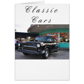 Dinning in the 50's at Mel's Diner Greeting Card