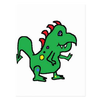 Dino 2 by JG Postcard