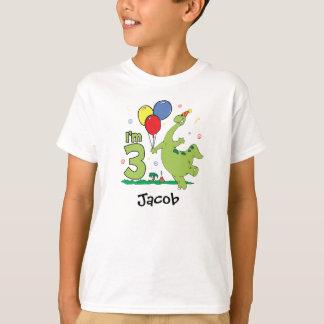 Dino 3rd Birthday T-Shirt