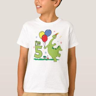 Dino 5th  Birthday T-Shirt