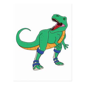 Dino AFO Postcard