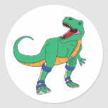 Dino AFO Stickers
