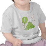 Dino Baby 1st Birthday Tshirt