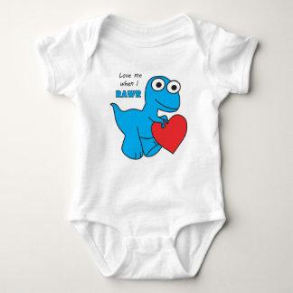 Dino Baby Jersey Bodysuit