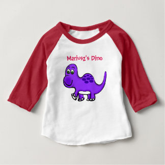 Dino Baby Long sleeve tot top Customize