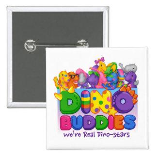 Dino-Buddies Button - Always Together Scene