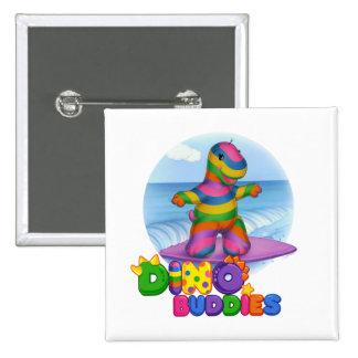 Dino-Buddies™ Button – Bo Surfing