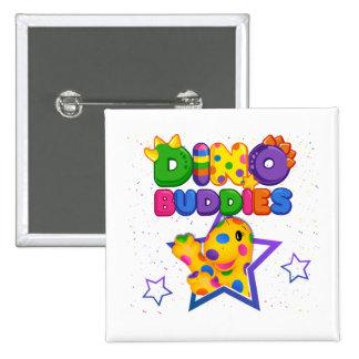 Dino-Buddies™ Button – Rollo w/Star Scene