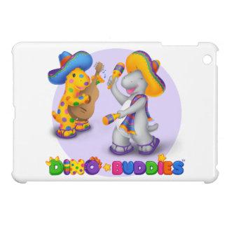 Dino-Buddies™ Mini iPad Hard Case - Mariachi Scene iPad Mini Case