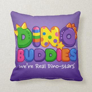 Dino-Buddies™ Pillow – Pinata Scene w/DB Logo 2 Throw Cushions