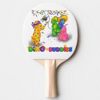 Dino-Buddies™ Ping Pong Paddle – Pinata Scene