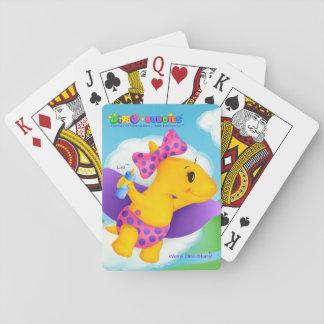 Dino-Buddies® Playing Cards - Lisi™ the Baby Buddy